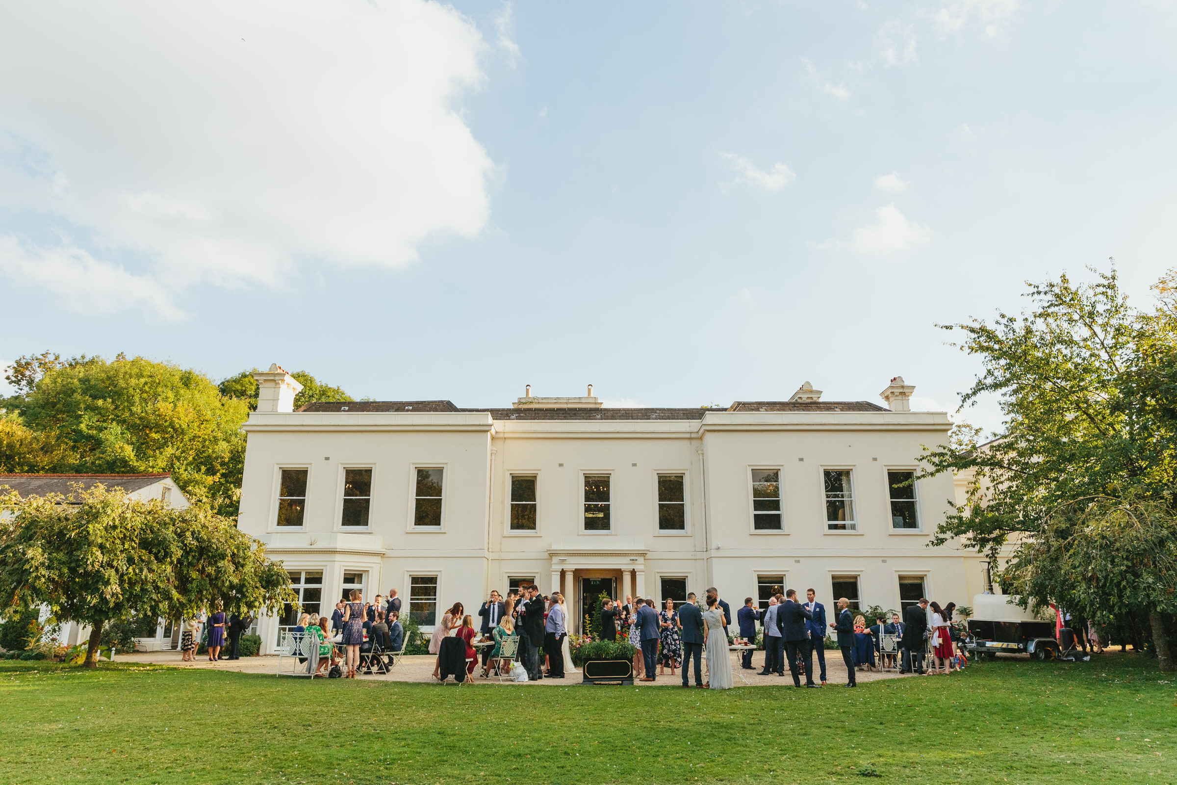 morden hall wedding