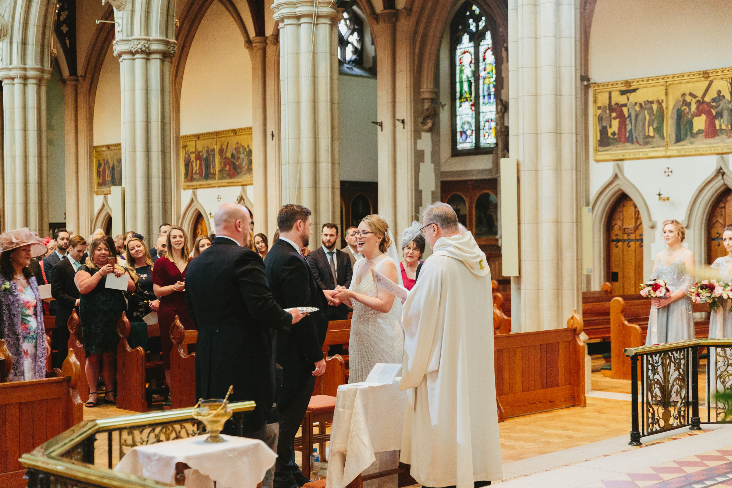 sacred heart wimbledon wedding