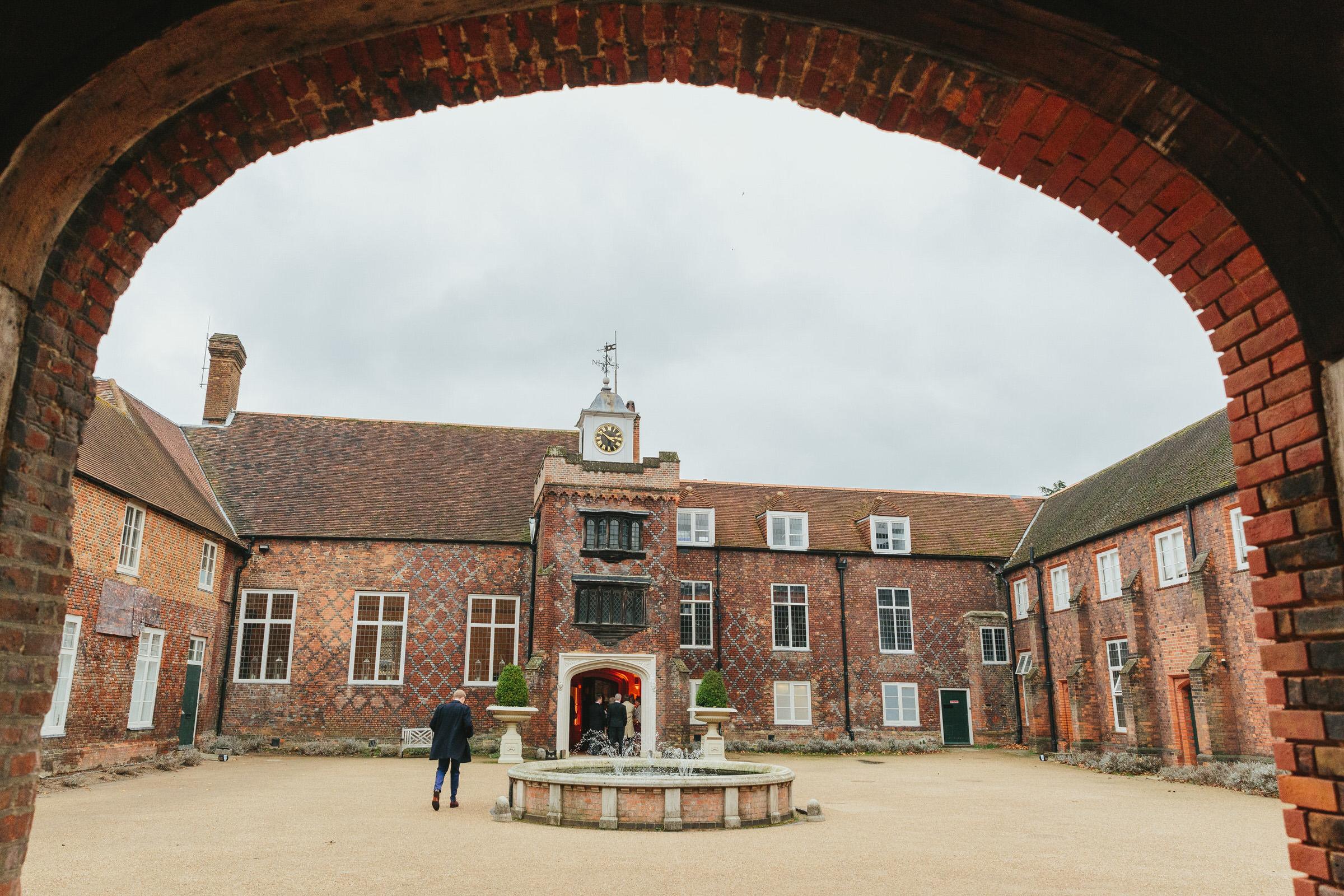 Fulham Palace courtyard