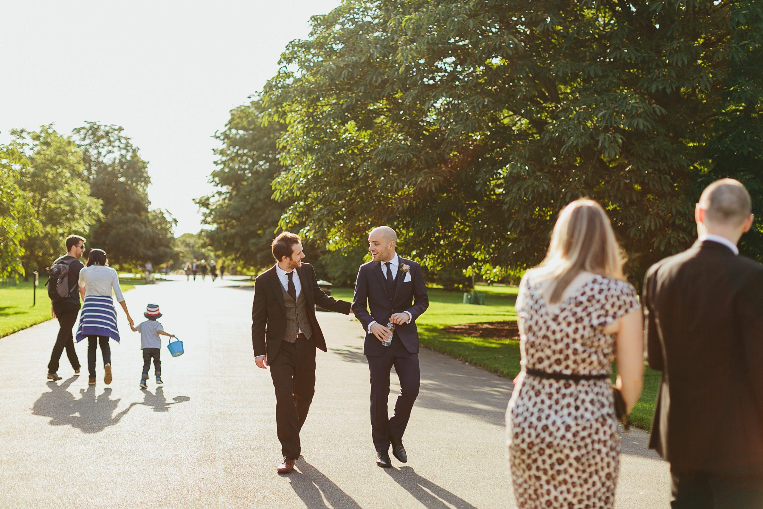 Kew Gardens Wedding - Cecilia & David