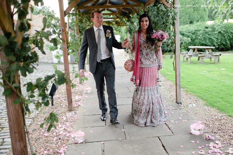 oak leaf wedding decoration