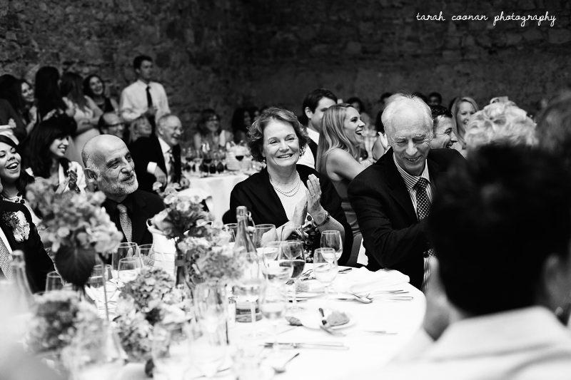 notley abbey wedding guests