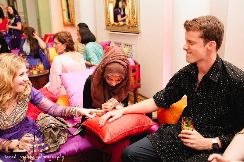 henna at a london mendhi