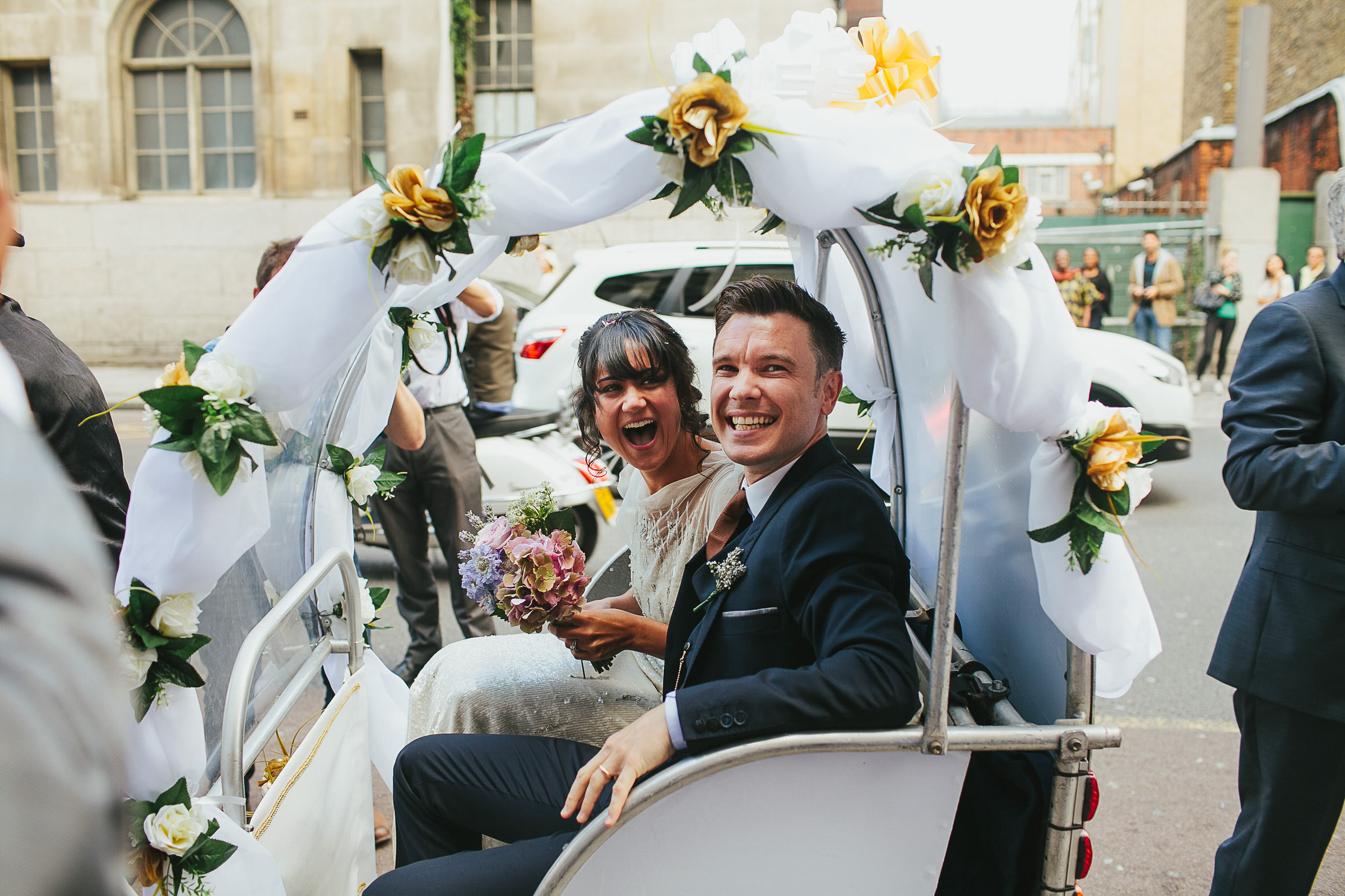 wedding pedalow