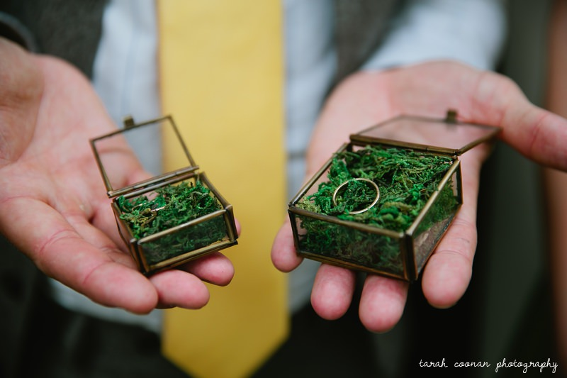 wedding ring moss boxes
