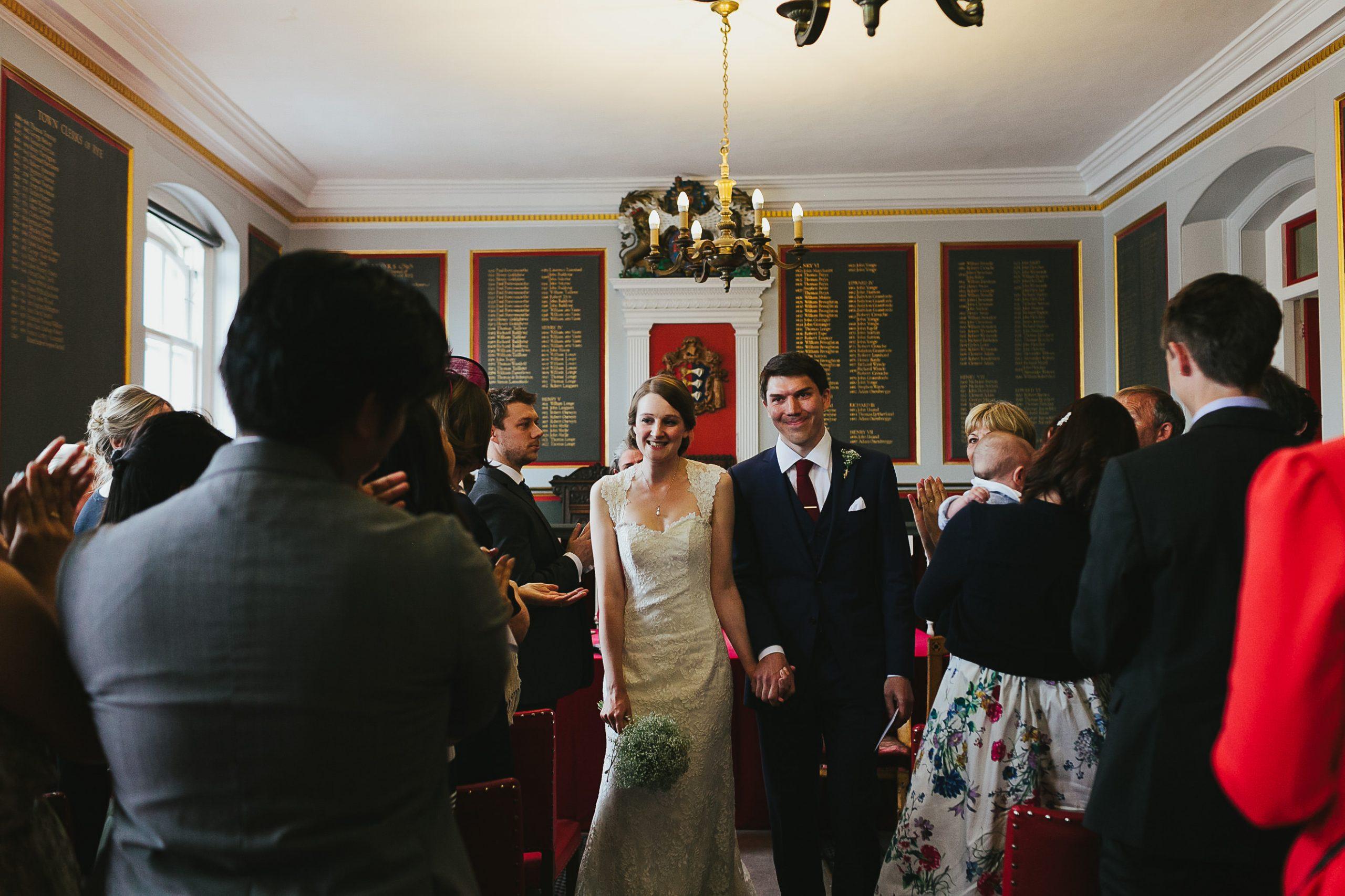 Rye Town Hall wedding - Ali & Ben