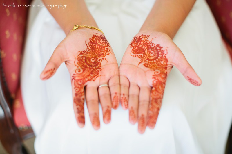 mendhi wedding hands