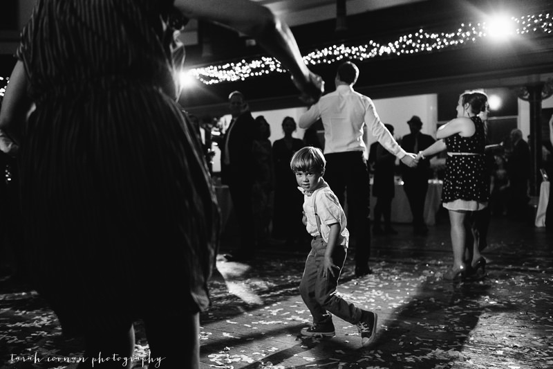 little boy dancing wedding