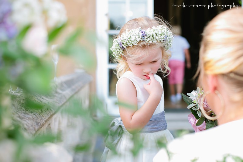 flower girl flower circlet