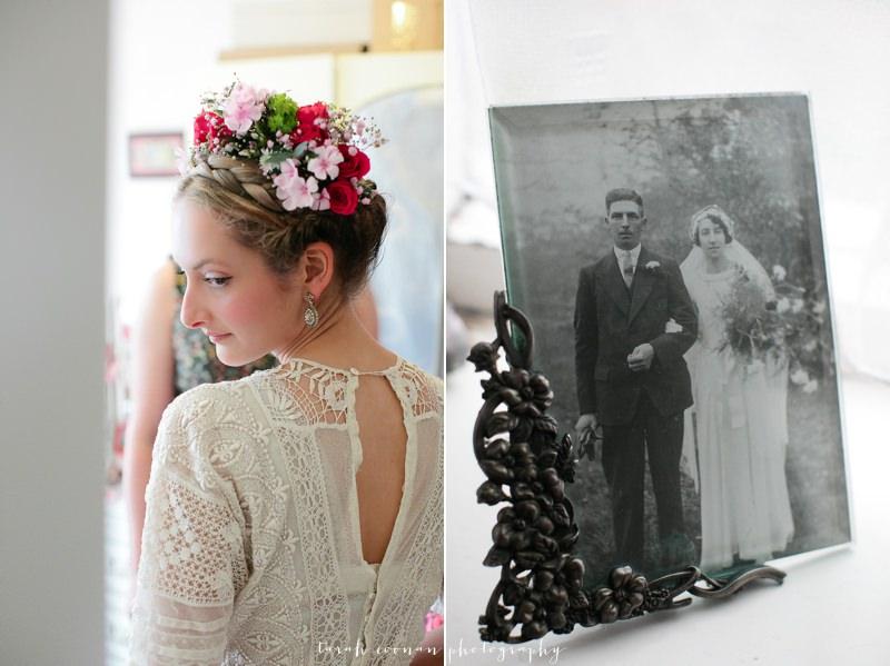 elizabeth avey vintage wedding dress