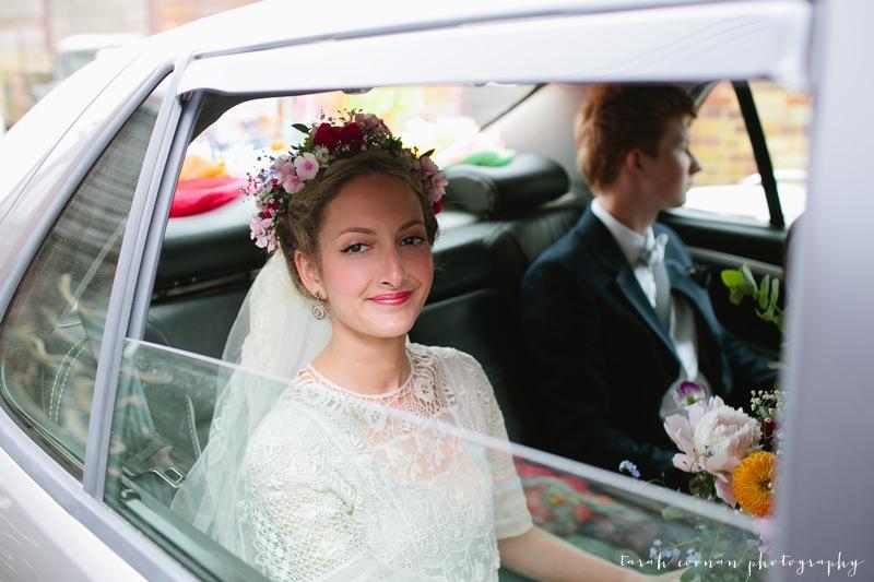 mexican bride flower crown