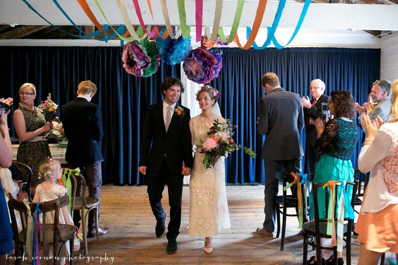 colourful wedding kent