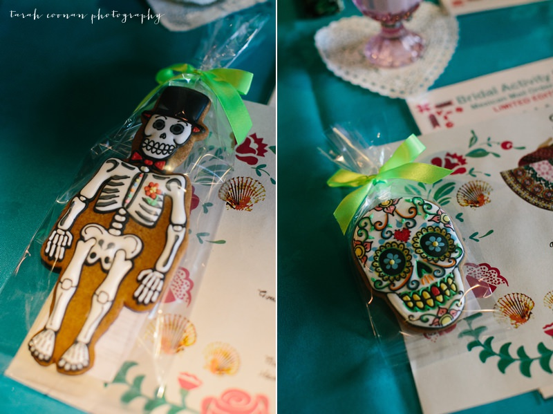 mexican themed wedding biscuits