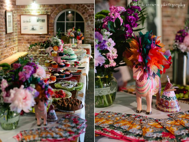 mexican cake table