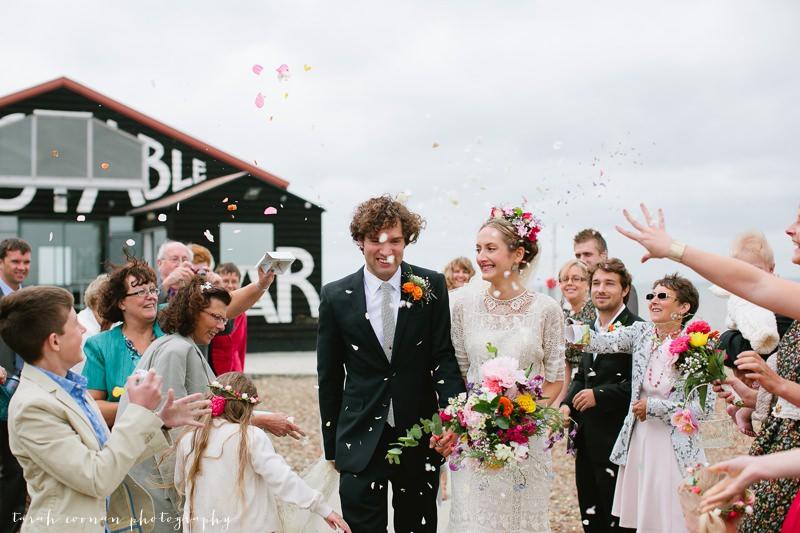 east quay wedding confetti