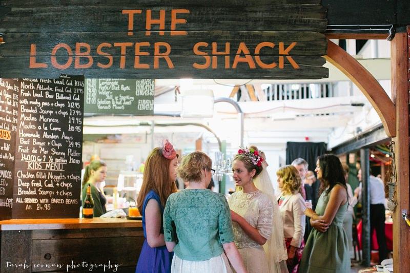 lobster shack wedding reception
