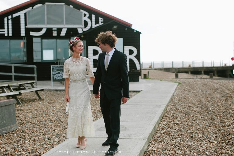 beach wedding uk