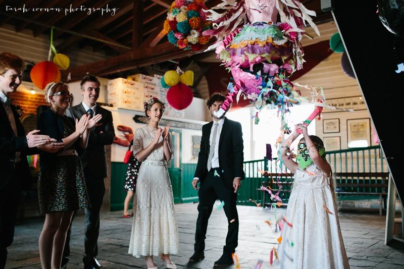 mexican pinata wedding
