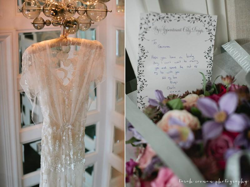 Jenny Packham art deco wedding dress