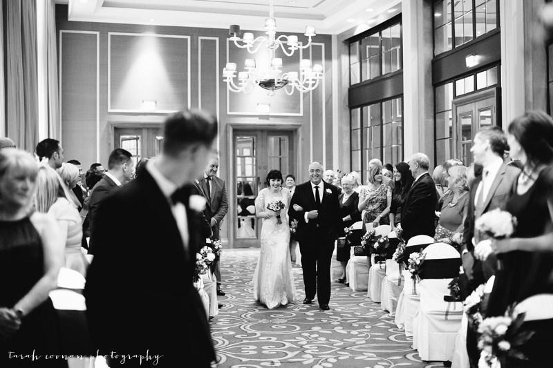 London Hotel ceremony