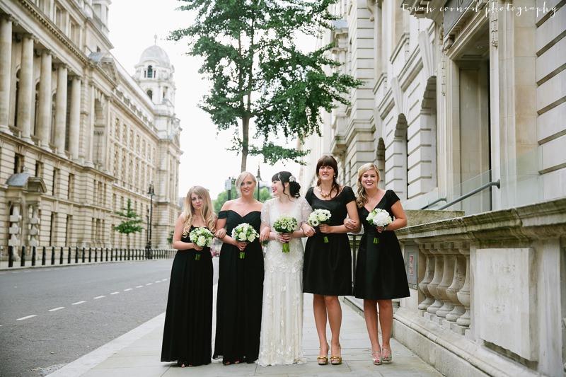 black bridesmaid dresses Dessy