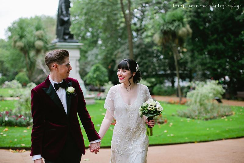 Corinthia Hotel wedding photographer - Charlie & Gemma