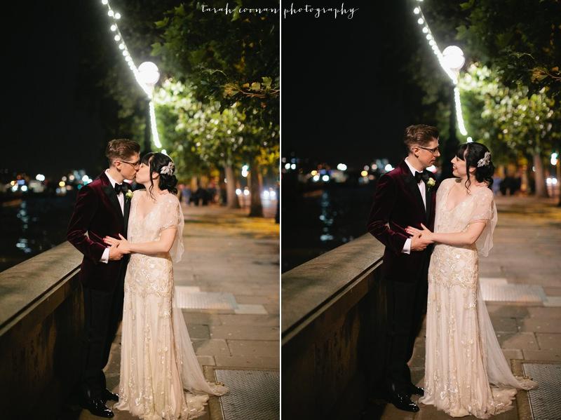 London river wedding