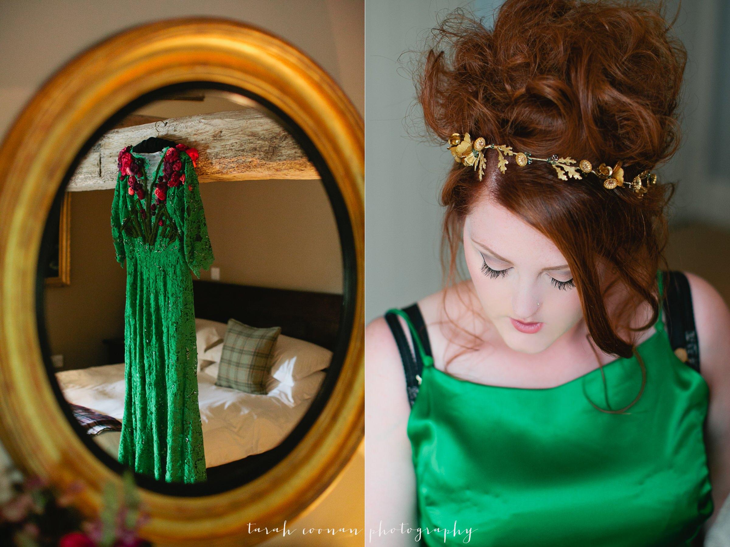 grecian hair vine