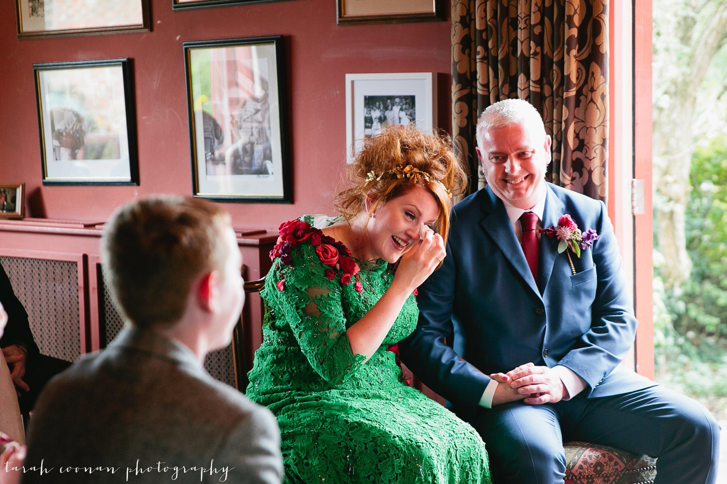emotional unconventional ceremony