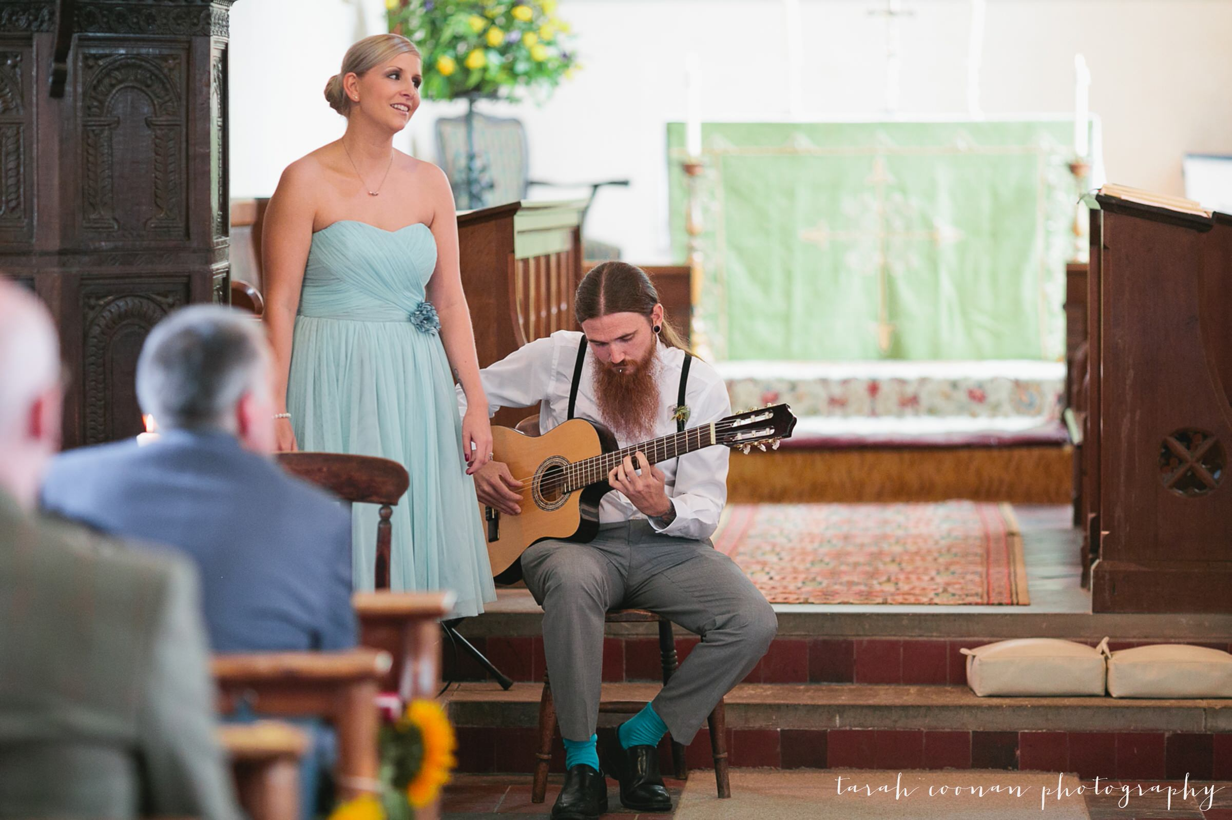 church wedding singalong