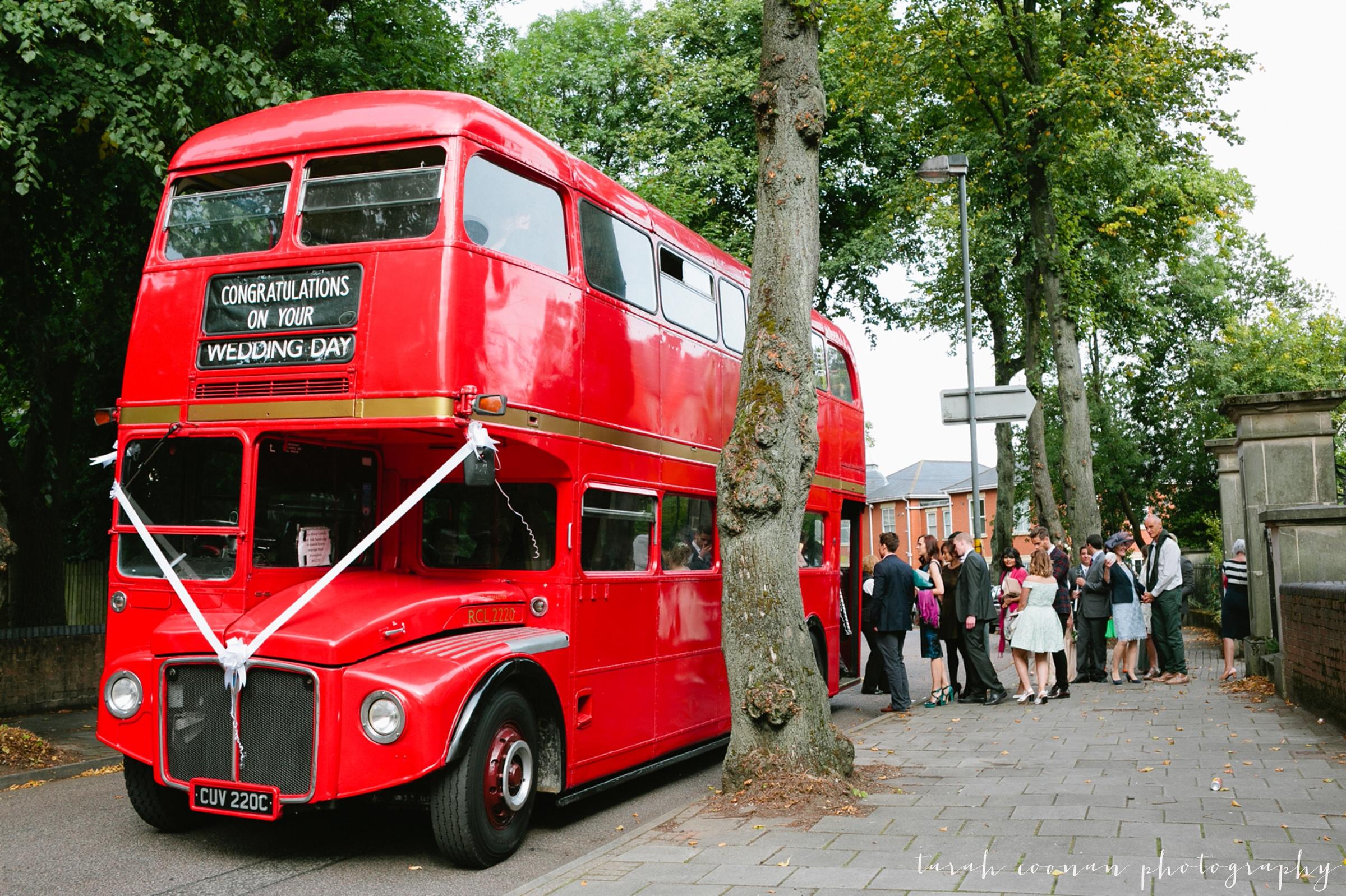 birmingham wedding bus