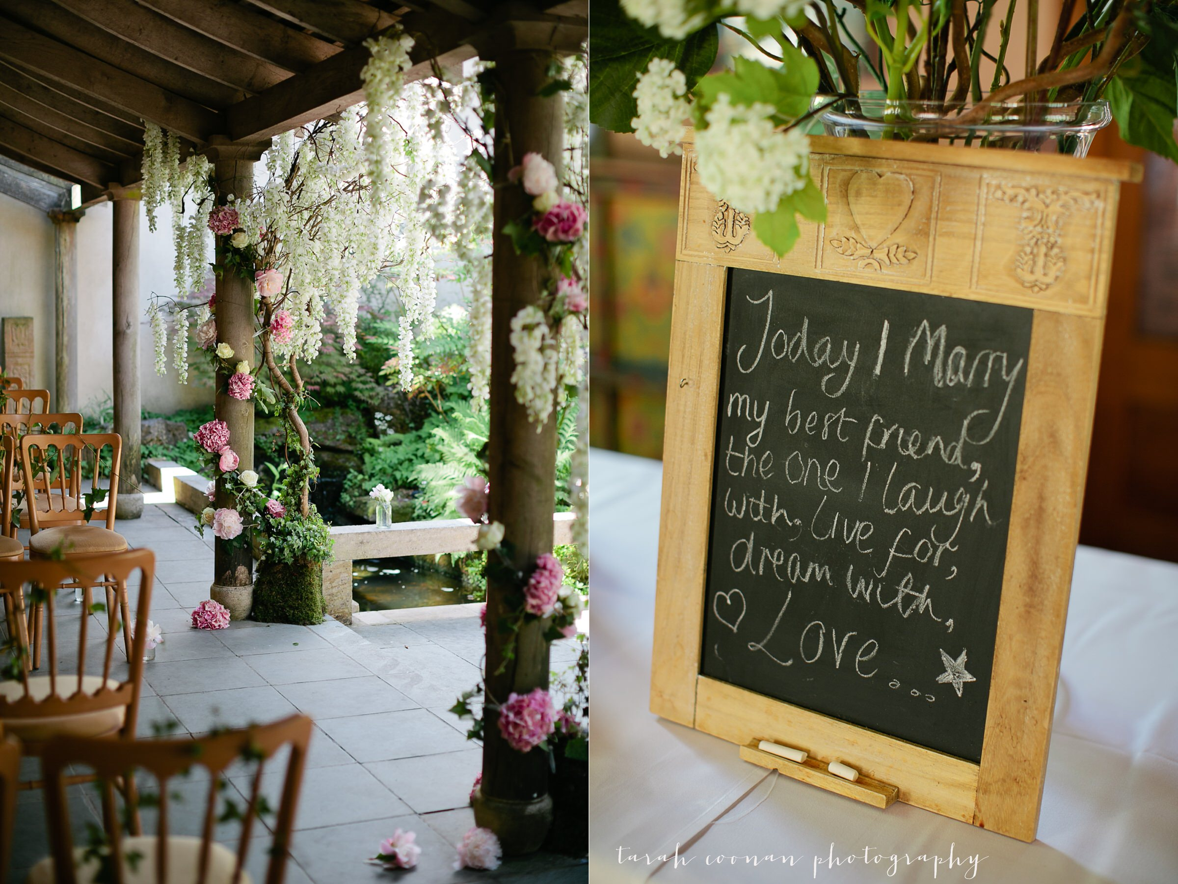 romantic wedding ceremony UK