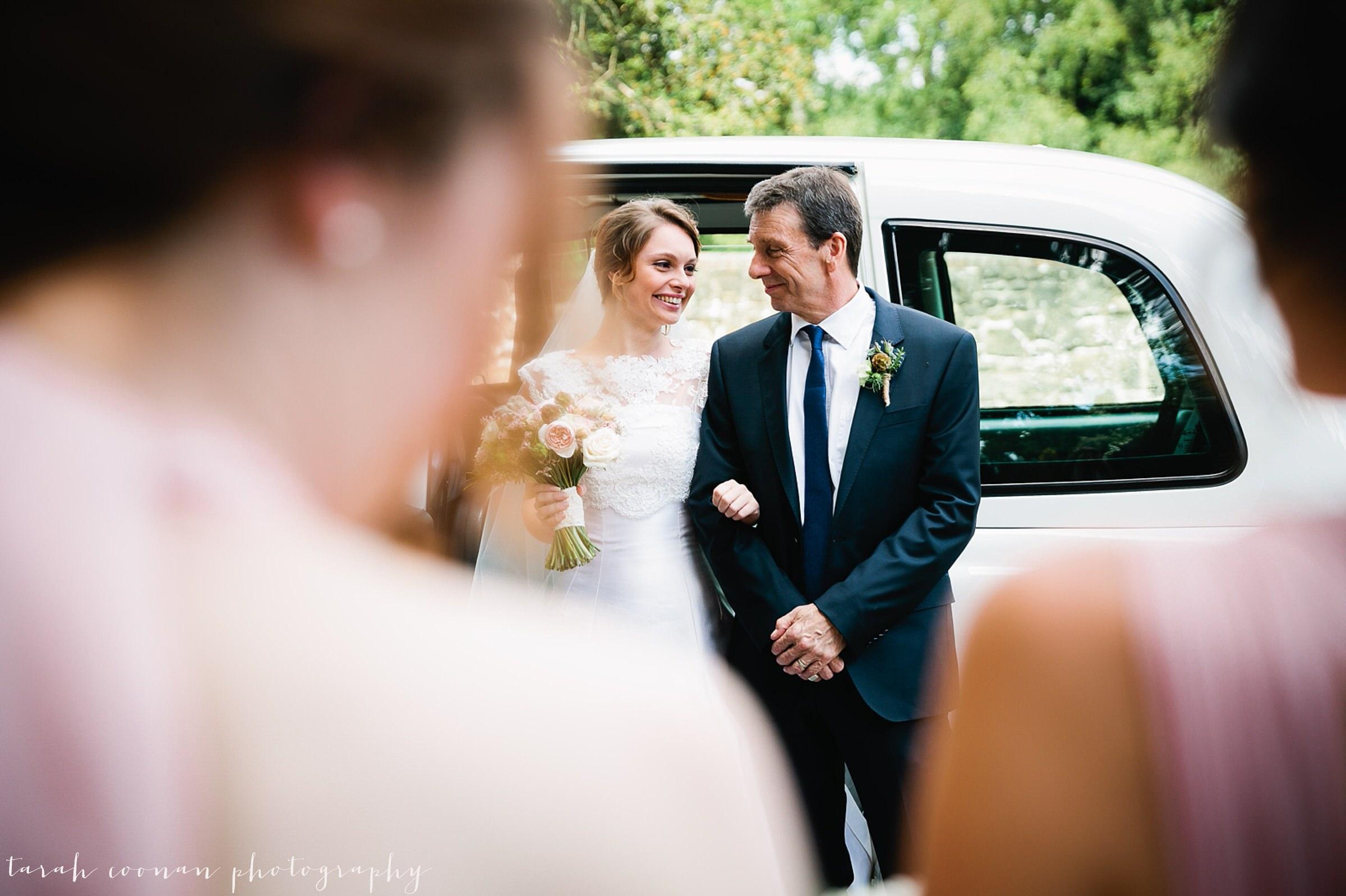 adoring father daughter wedding