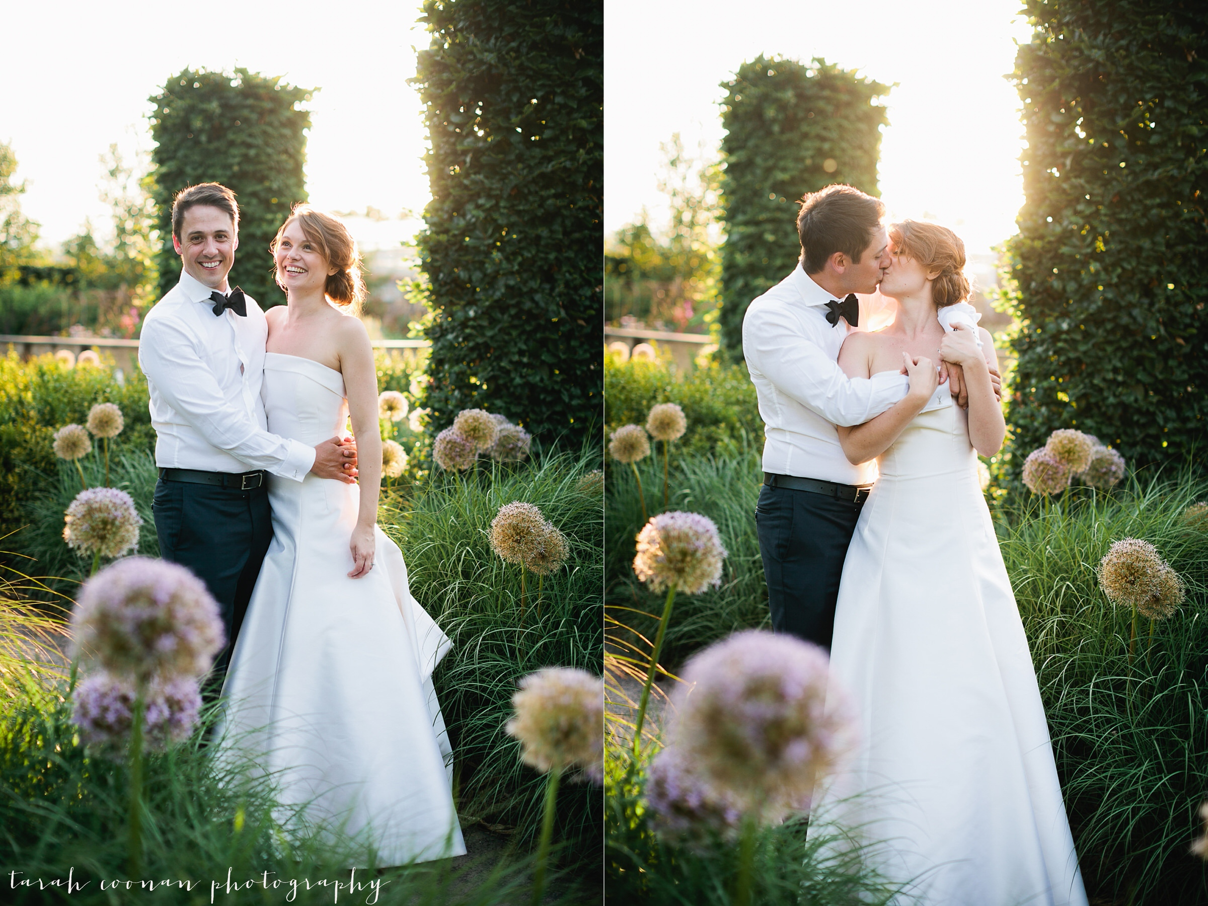 surrey sunset wedding