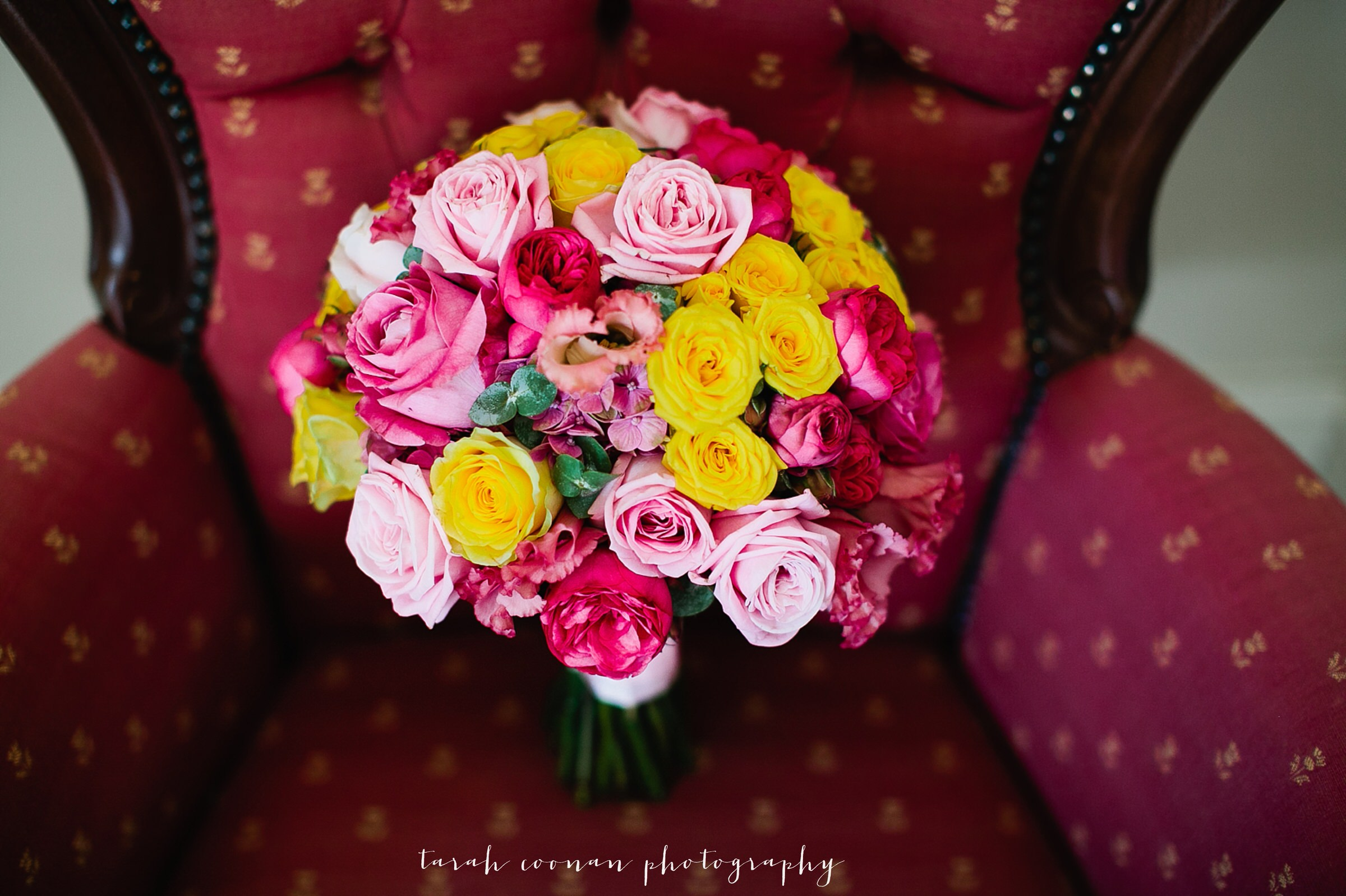 colourful indian wedding bouquet