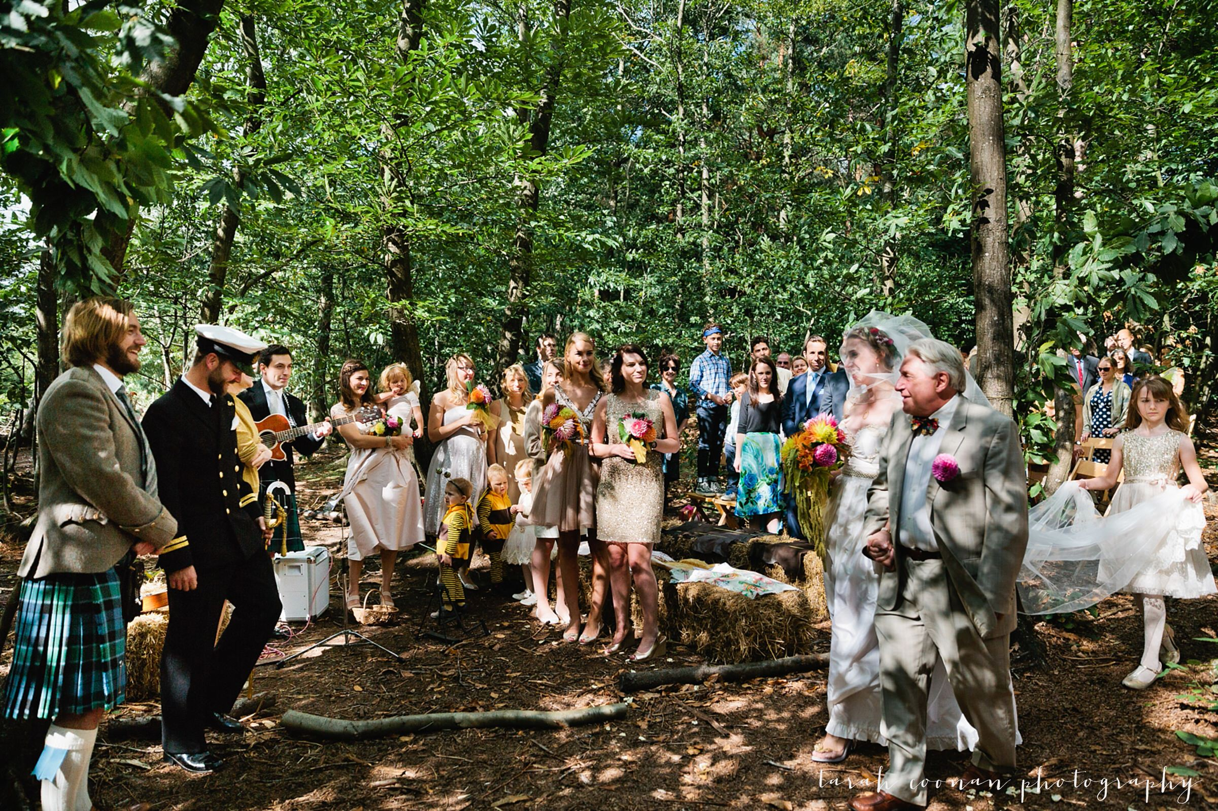woodland humanist ceremony