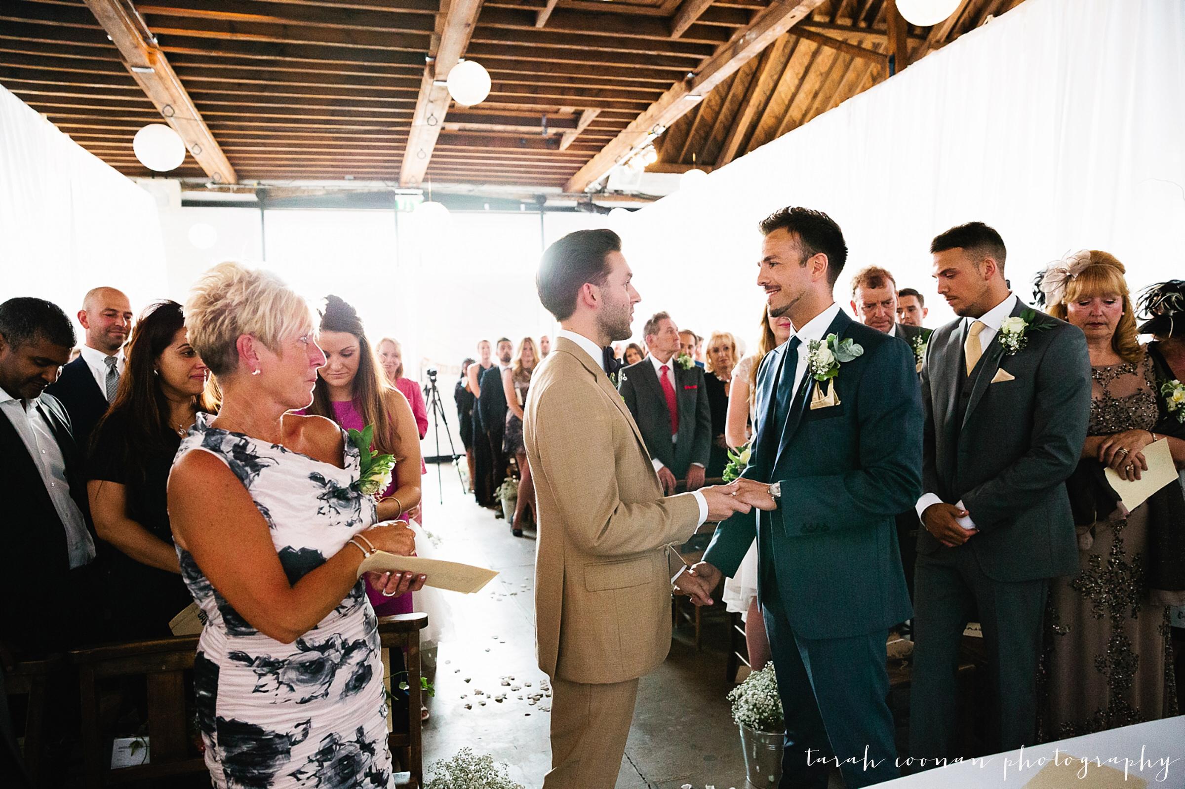 emotional gay wedding