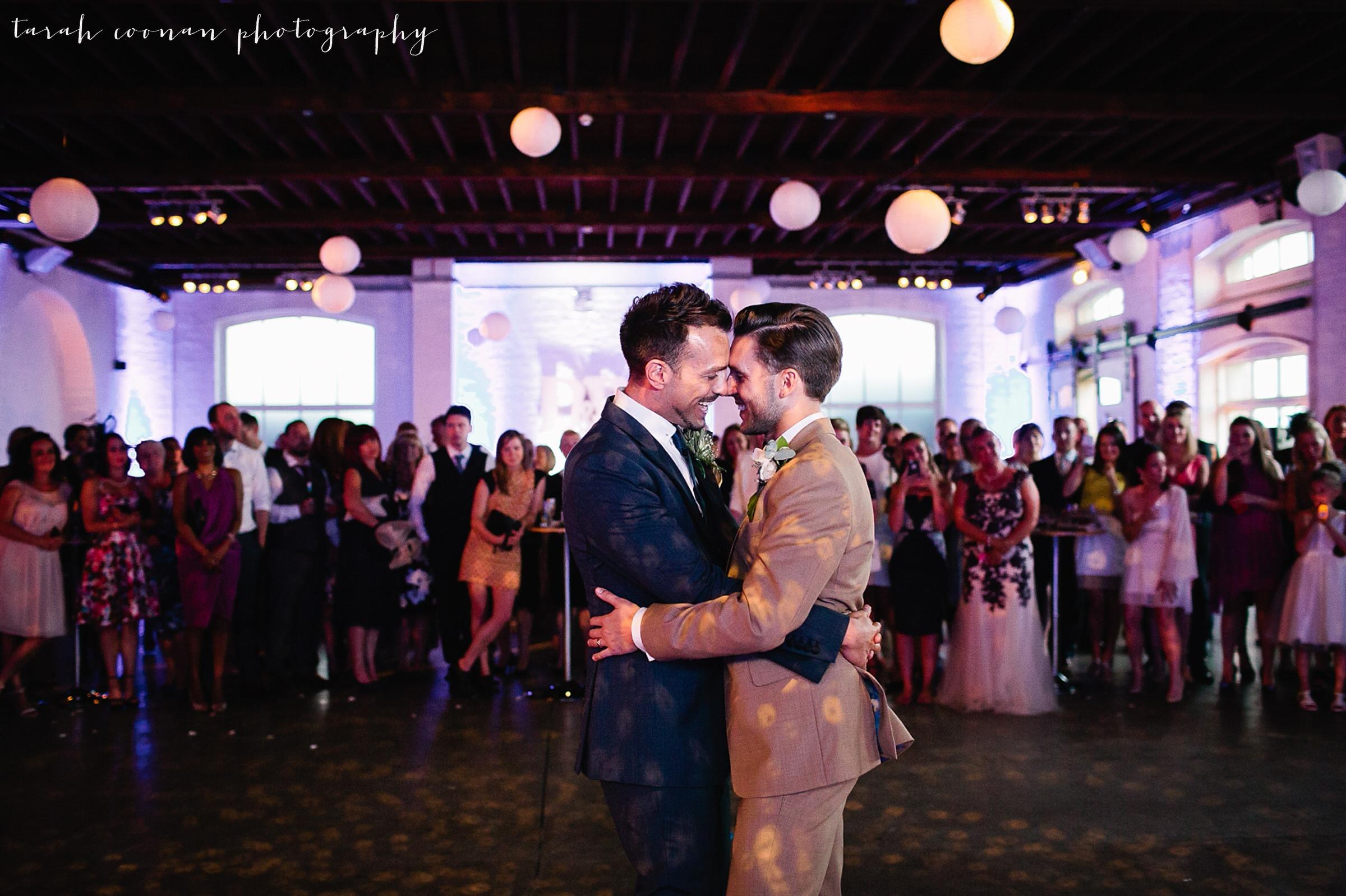 Trinity Buoy Wharf wedding - David & Ryan
