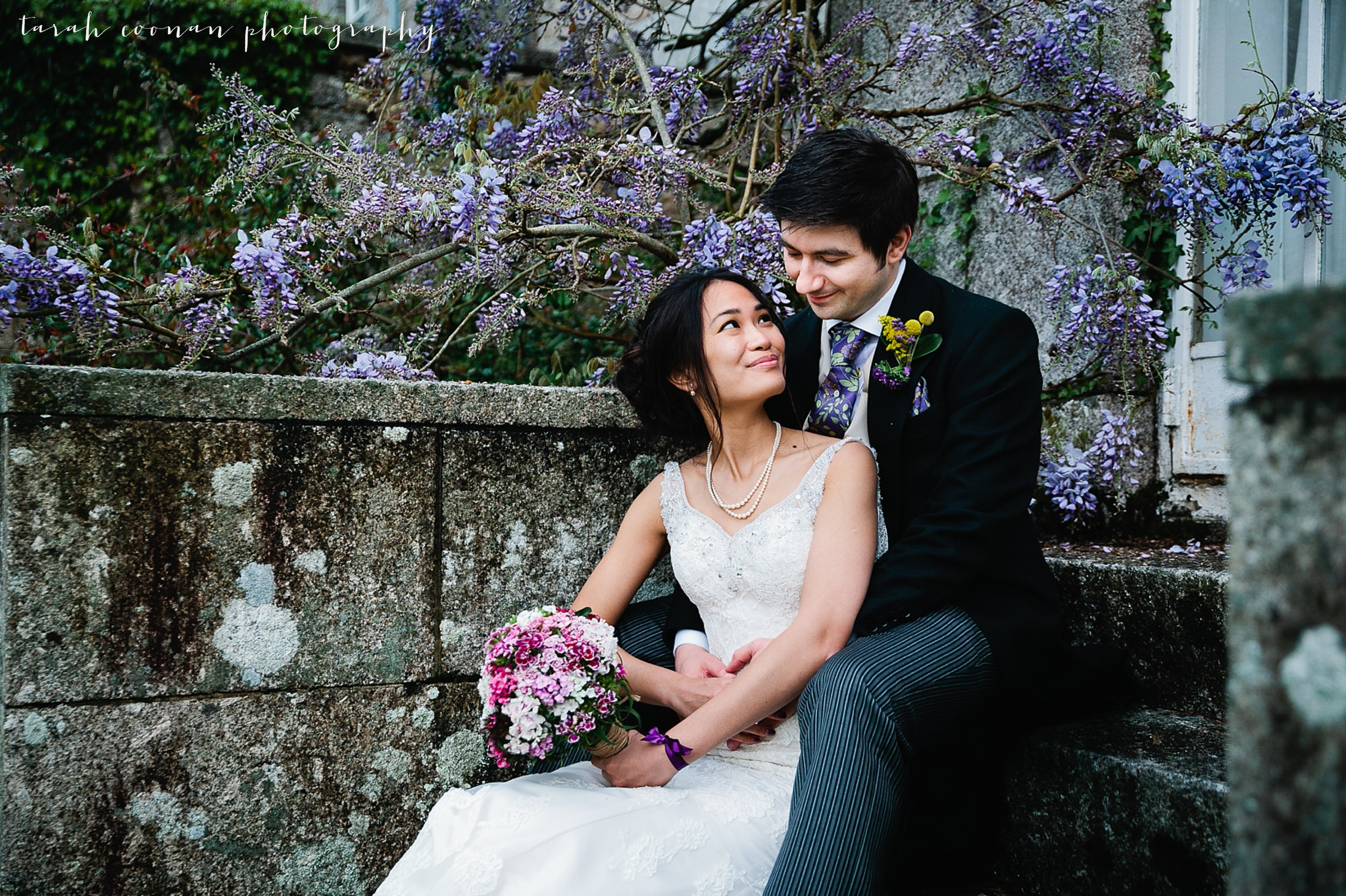 Wisteria wedding