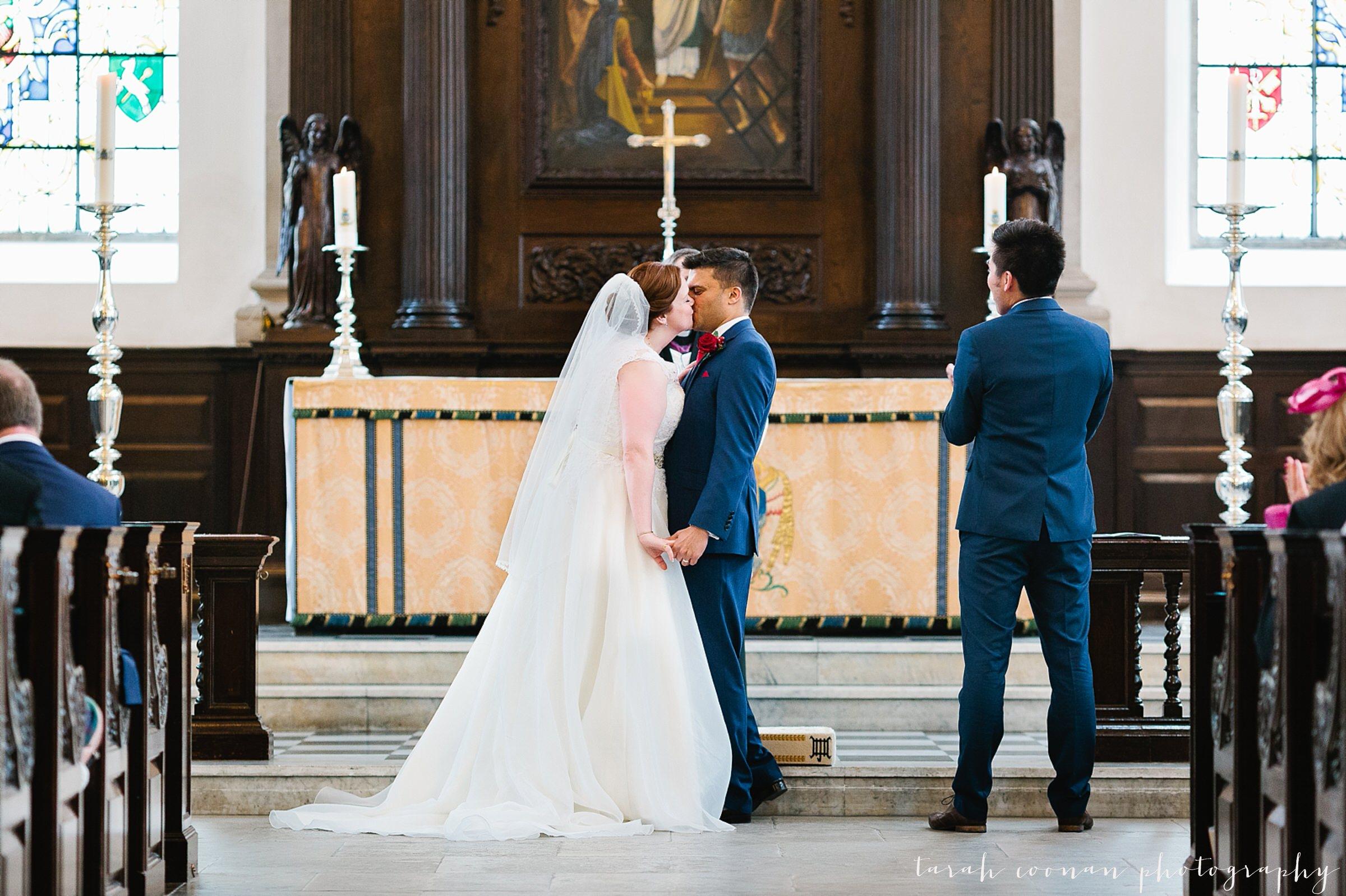 London church wedding