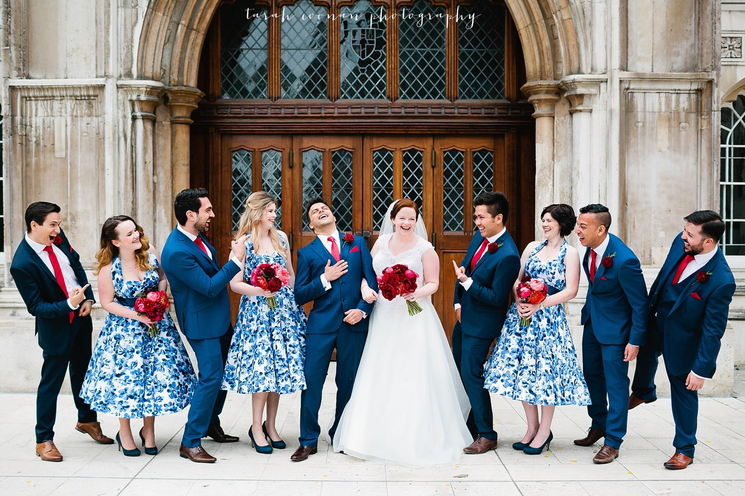 London Town Hall wedding - Luke & Gillian