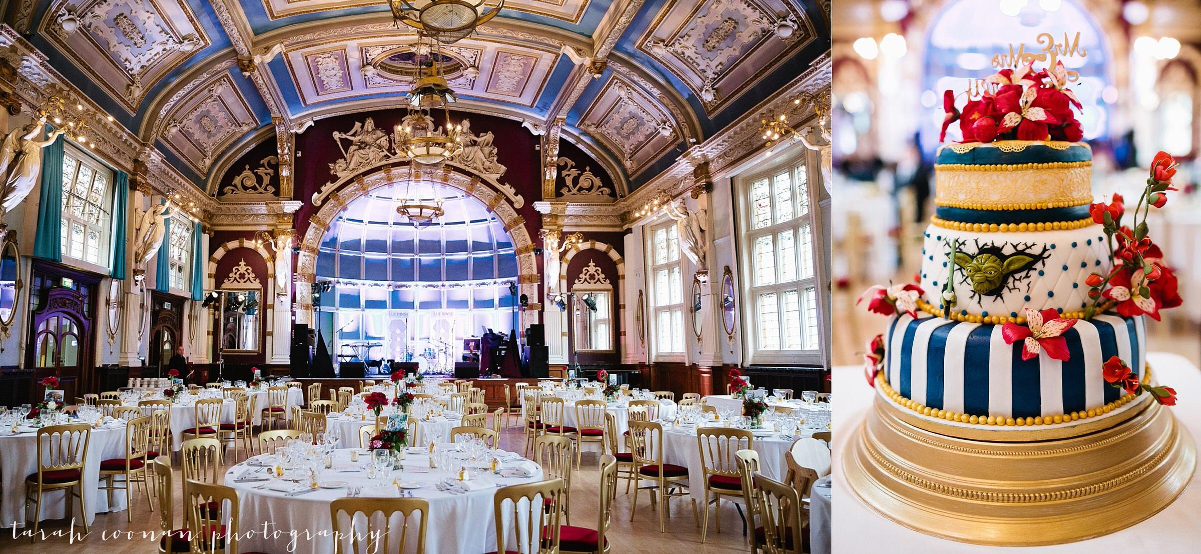 Old Finsbury Town Hall wedding