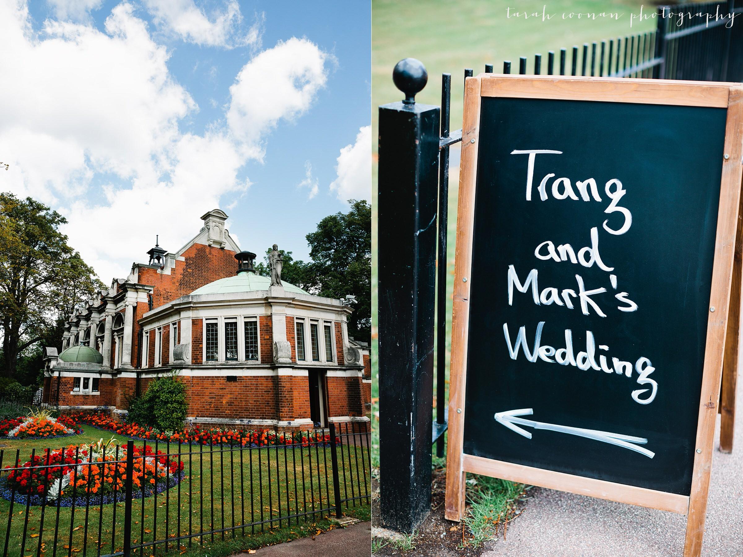 south london wedding venue
