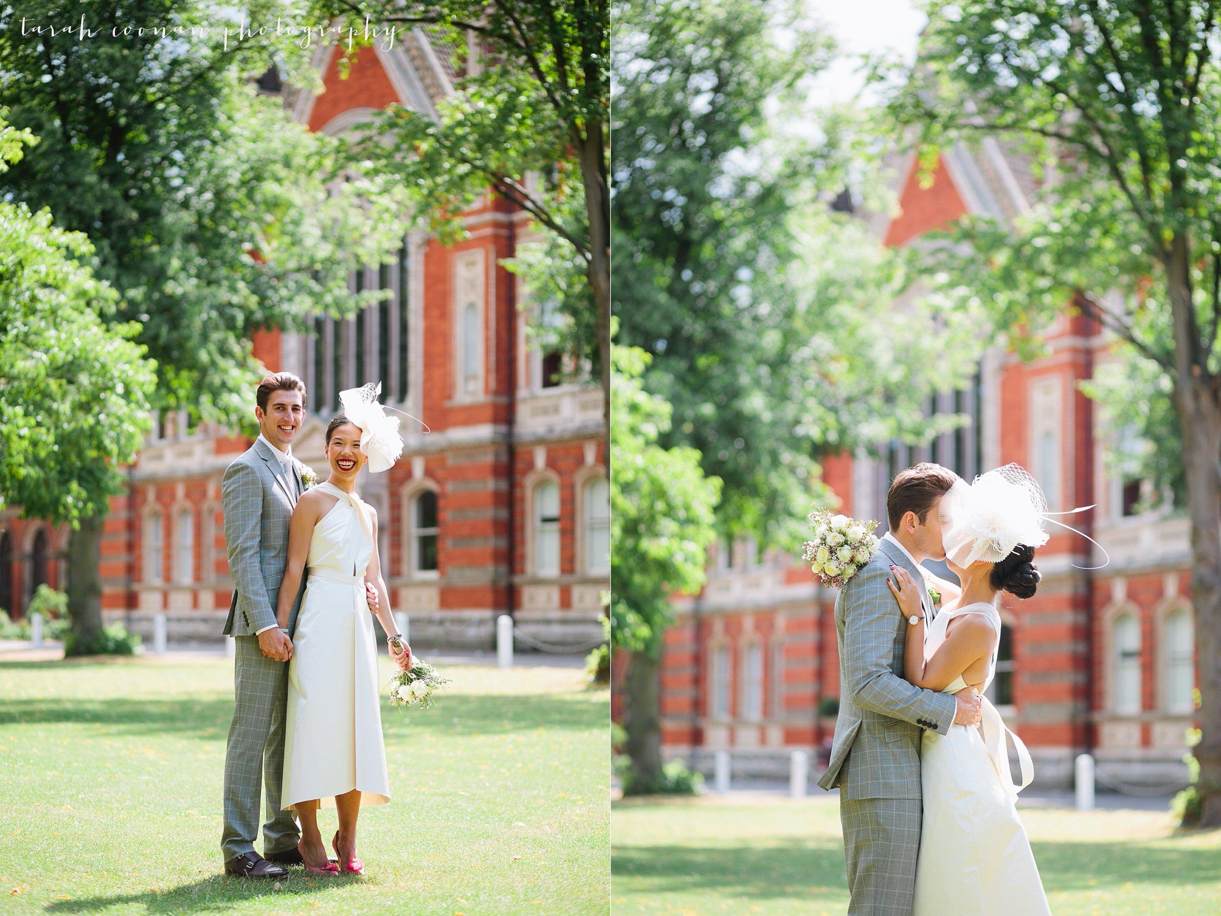 Dulwich College wedding - Mark & Trang