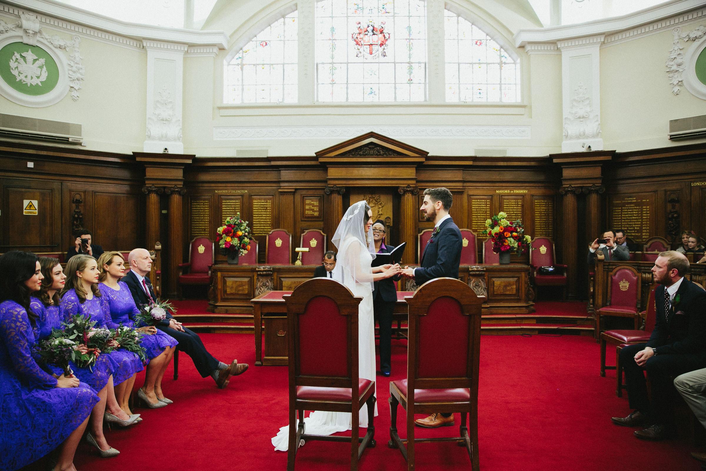 Islington wedding venue