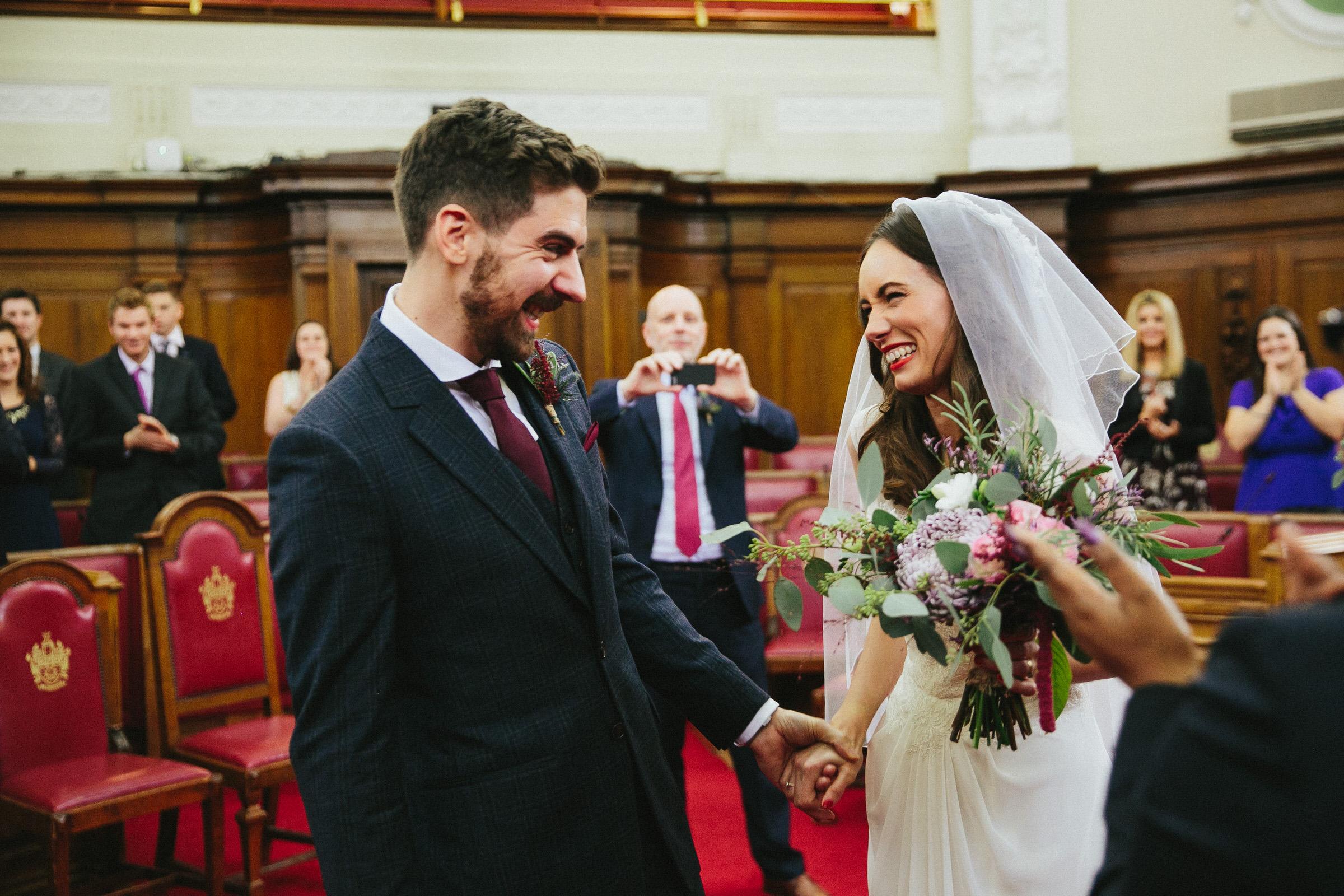Peasant pub wedding - Amy & Barney
