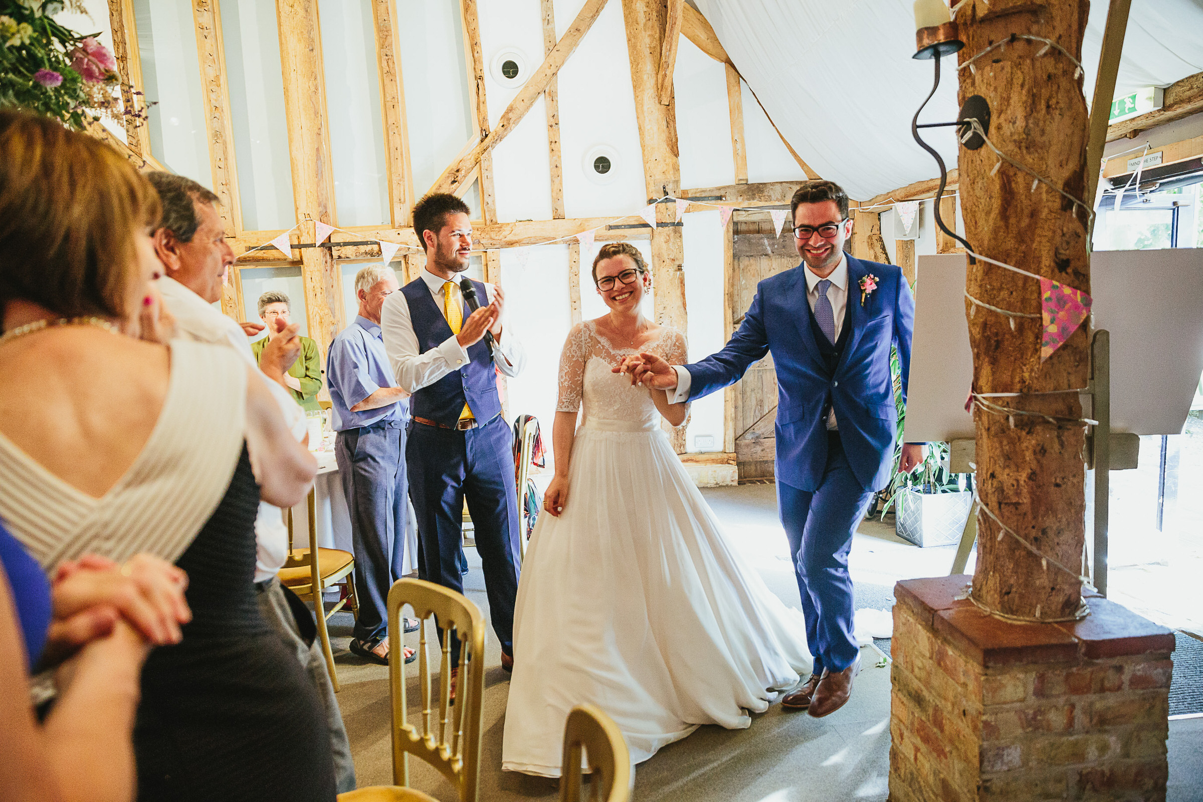 South Farm wedding - Toto & Benji