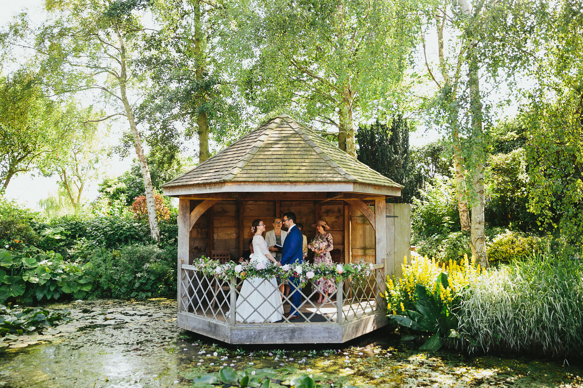 outdoor wedding UK
