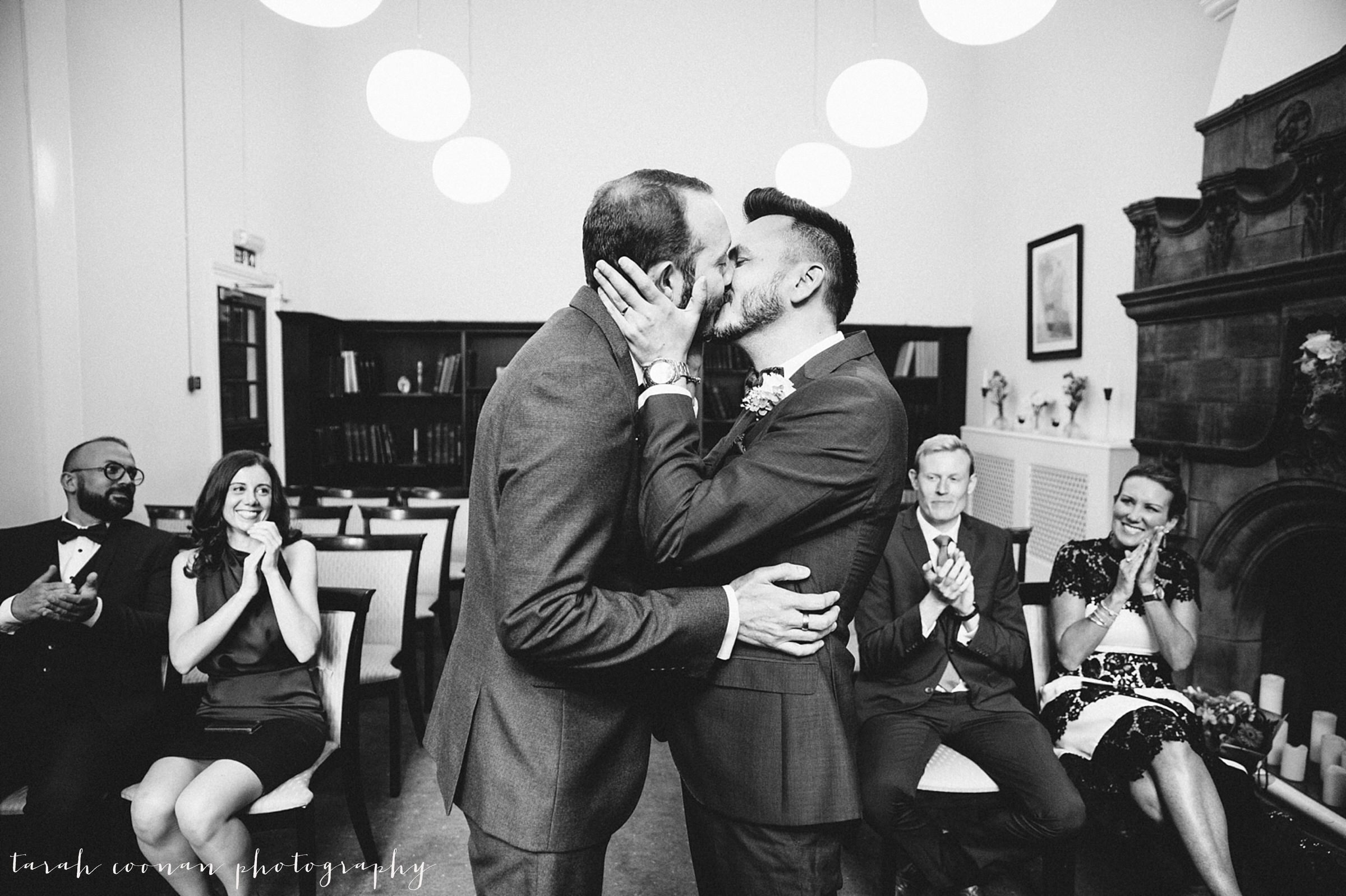 Mayfair Library gay wedding