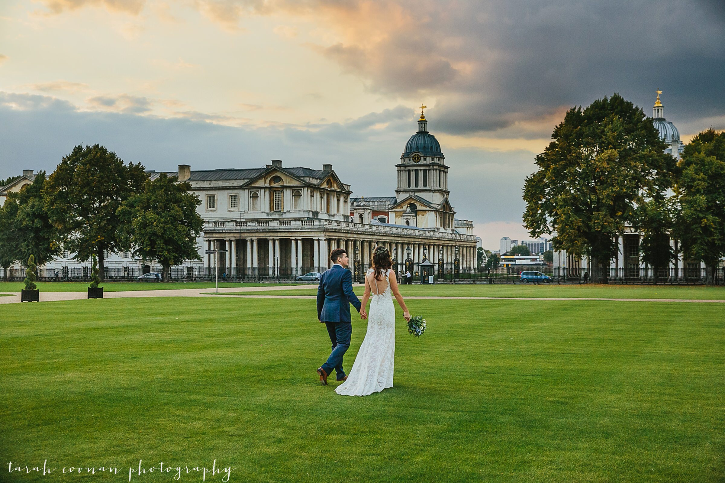 Royal Naval College wedding